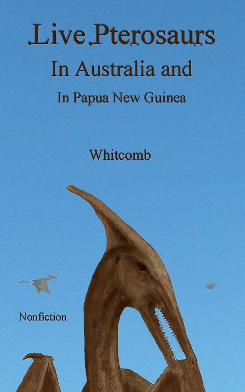 "digital book ""ebook"" cover: nonfiction cryptozoology published in September, 2012"