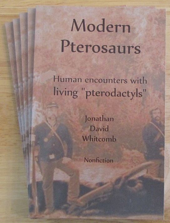 "by the author Jonathan Whitcomb: ""Modern Pterosaurs"""