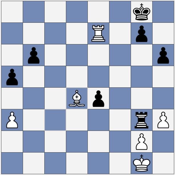 bishop attacks pawn at b6