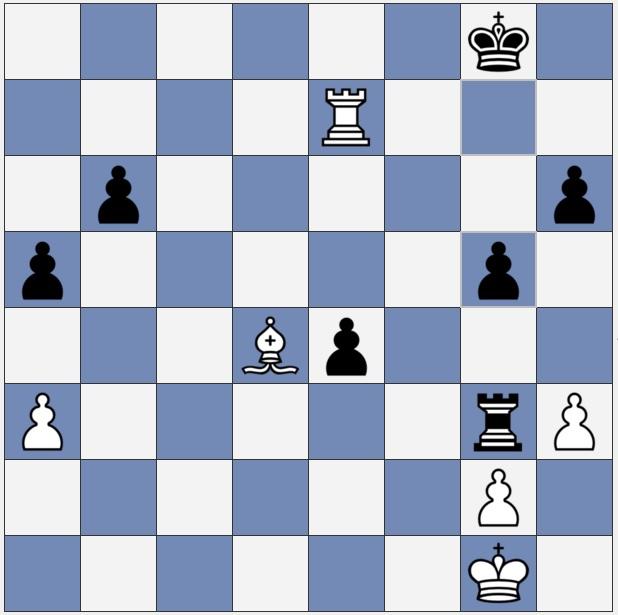 Black preserves the g-pawn